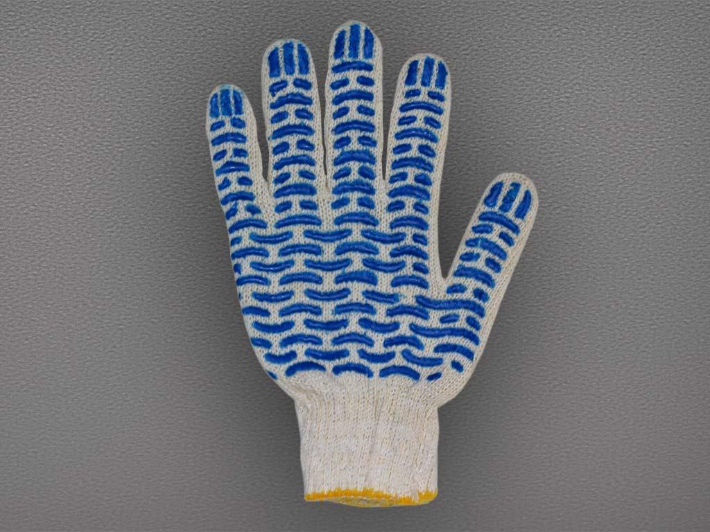 Перчатки ХБ с ПВХ – 45 гр. (10кл)