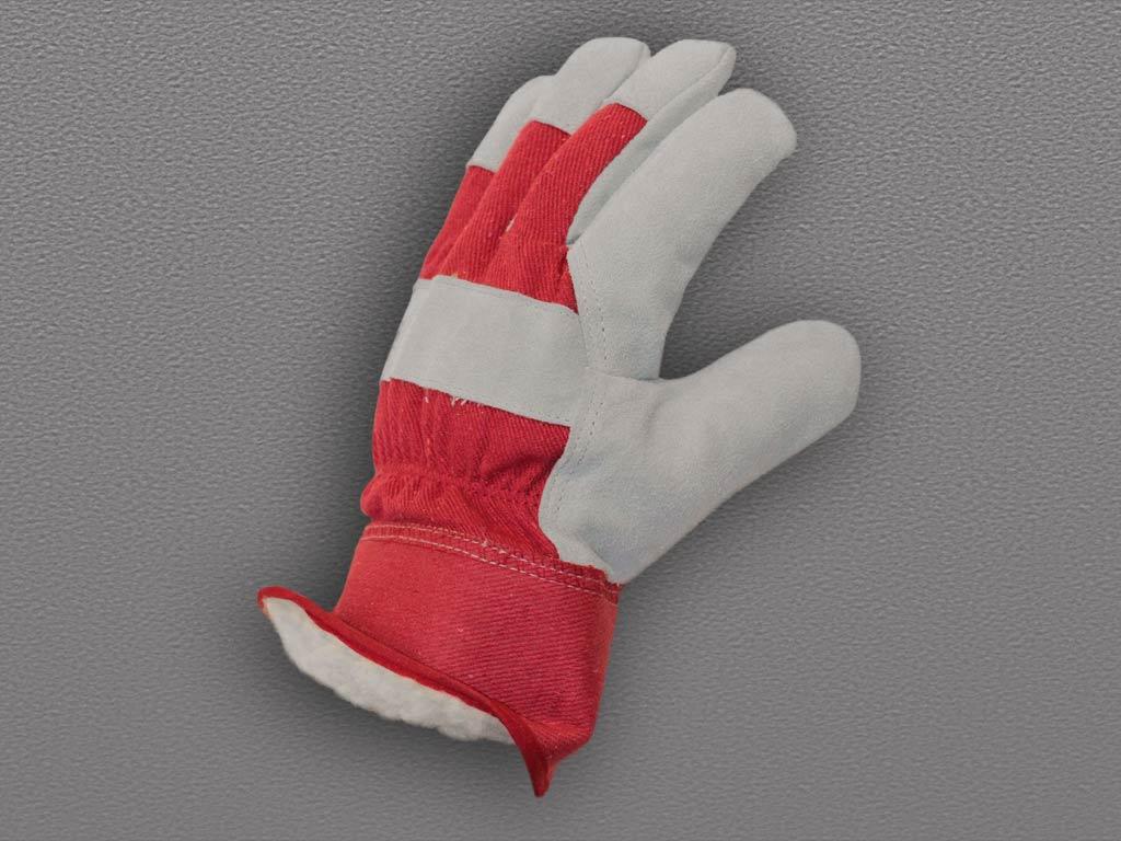 Перчатки спилковые комбинированные «ангара» – люкс