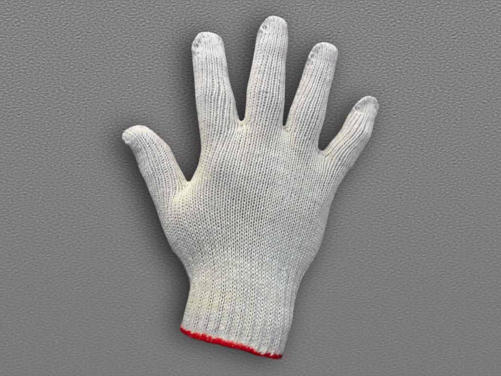 Перчатки х/б без пвх люкс 7 класс вязки