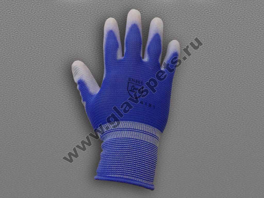 Перчатки нейлоновые антистатические с полиуретановым покрытием