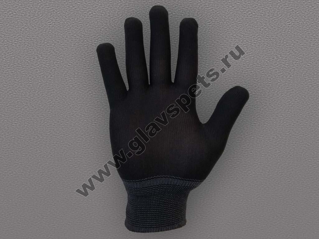 Перчатки нейлоновые антистатические – черные