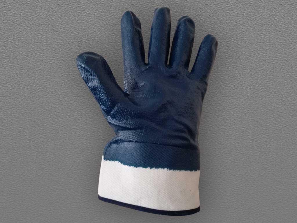 Перчатки с полным нитриловым покрытием крага
