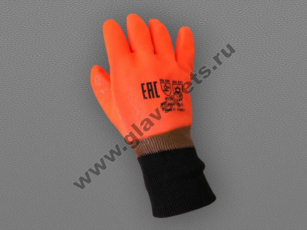 Перчатки нитриловые Аляска манжет-резинка