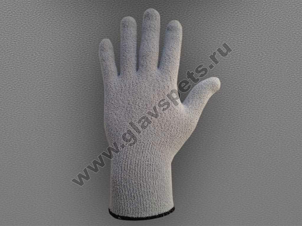 Перчатки рабочие из объемного трикотажа (плюш)