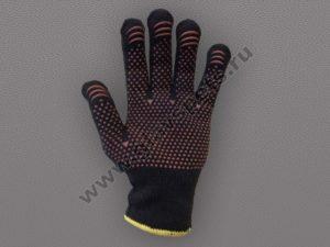 Перчатка утепленная с ПВХ покрытием (Осень эконом)