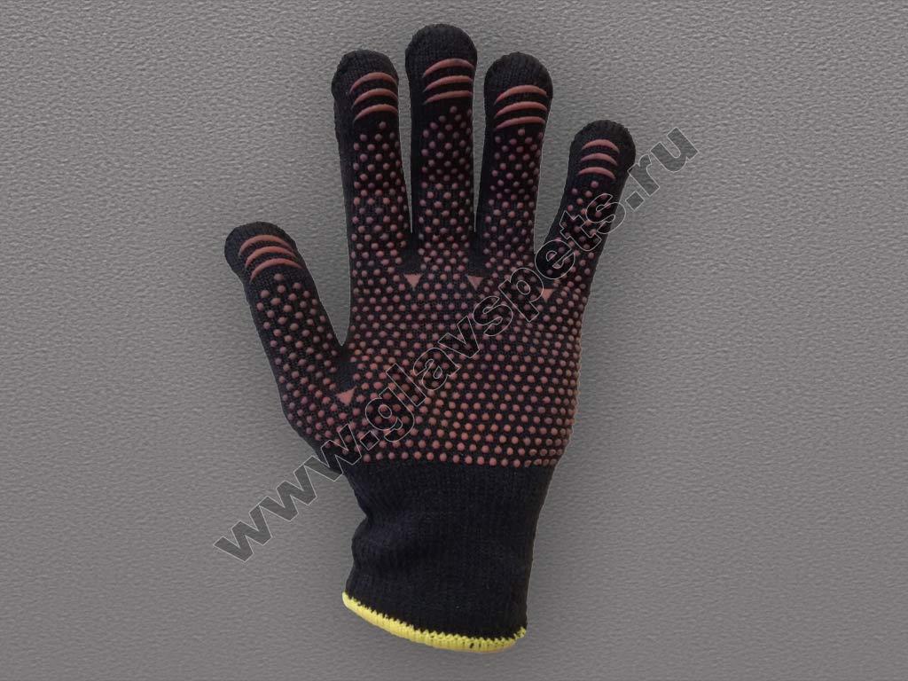 Перчатки утепленные с ПВХ покрытием (Осень эконом)