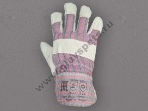 купить недорого оптом перчатки спилковые комбинированные утепленные Ангара, отзывы клиентов удобные условия доставки заказа купить перчатки и рукавицы оптом