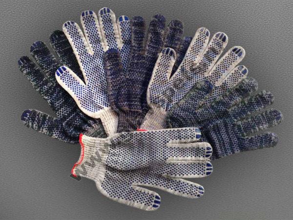 Перчатки Хб с ПВХ NICE-ТОЧКА Компания Главспец поставщик- производитель, купить перчатки строительные опт профессиональные цена производителя, распродажи