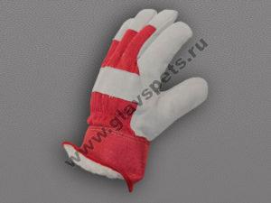 по ценам производителя оптомв Москве перчатки спилковые комбинированные Ангара Люкс купить оптом зимние рабочие перчатки подробное описание отзывы клиентов
