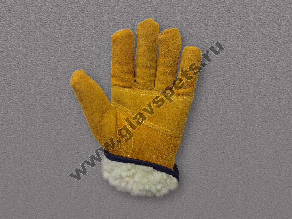 Перчатки спилковые драйвер
