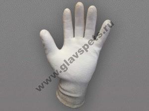 купить оптом качественные выгодно перчатки с защитой от порезов из волокон Дайнима усиленная ладонь, купитьперчатки рабочие нейлоновые Компания Главспец