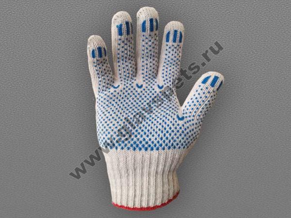 по ценам производителя оптом перчатки ХБ с ПВХ Точка, перчатки хозяйственные люкс, перчатки с латексным покрытием трикотажные хб, перчатки краги спилковые