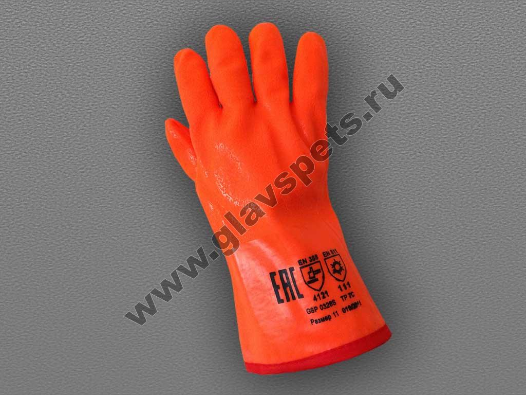перчатки нитриловые аляска полный облив морозостойкие