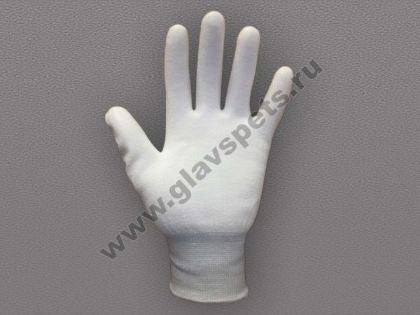 Перчатки нейлоновые антистатические с полиуретановым покрытием ладони, купить строительные перчатки оптом, компания производитель рабочих перчаток в Москве