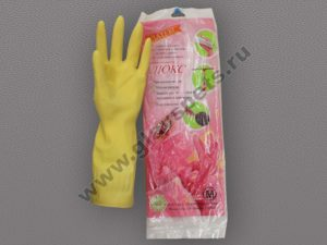 Перчатки хозяйственные ЛЮКС от поставщика- производителя рабочих перчаток и рукавиц по ценам производителя оптомв Москве, купить перчатки резиновые оптом
