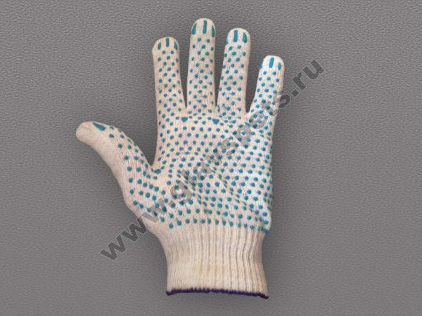 купить лучшая цена России перчатки ХБ с ПВХ Точка, перчатки садовые, виброзащитные перчатки, краги сварщика спилковые пятипалые, карбоновые перчатки оптом