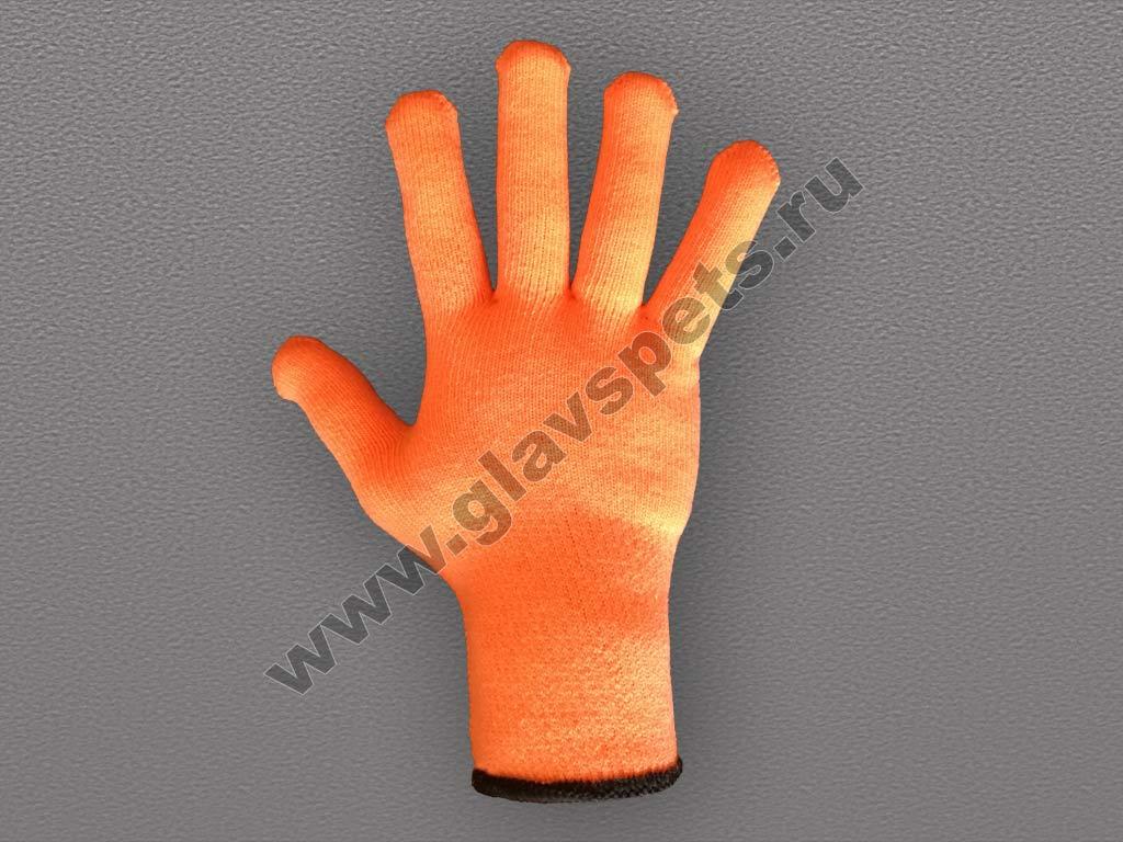 Перчатки акриловые с ПВХ покрытием 10 кл
