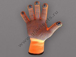 Перчатки акриловые с ПВХ покрытием для погрузочно-разгрузочных работ, фасовки, монтажа, работы с пластмассами, складского хозяйства, перчатки цветные купить