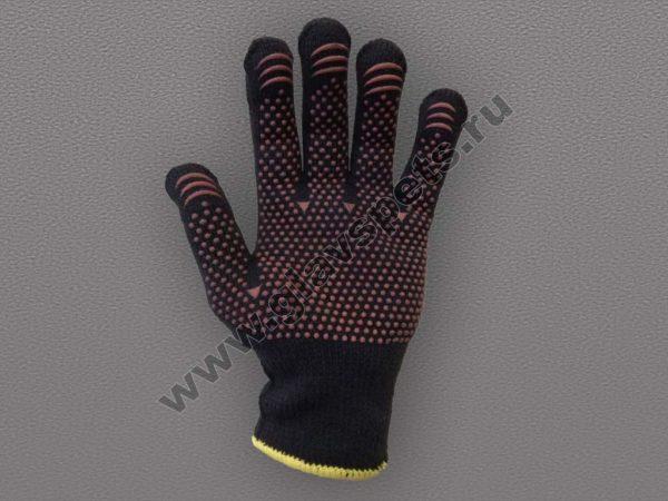 Перчатки утепленные с ПВХ покрытием Осень эконом купитьперчатки пвх с точкой, Компания Главспец поставщик- производитель рабочих перчаток и рукавиц Москва