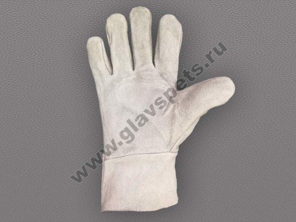 купить оптом с доставкой по России перчатки спилковые цельные ООО Компания Главспец поставщик- производитель рабочих перчаток купитьрабочие рукавицы оптом