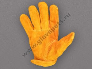 от компании производителя купить перчатки спилковые Драйвер по выгодной недорогой цене с доставкой по России, купить перчатки для работы по распродаже акции